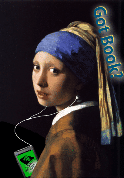 craftlit with a pearl earring