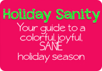 holiday sanity